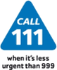 NHS 111: When it is less urgent than 999